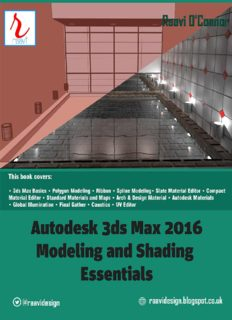 Autodesk 3ds Max 2016 - Modeling and Shading Essentials