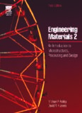 Engineering Materials 2, Third Edition: An Introduction to Microstructures, Processing and Design (International Series on Materials Science and Technology) (v. 2)