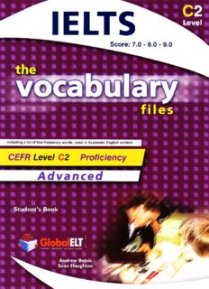 The Vocabulary Files - English Usage - Student's Book Advanced C2  IELTS 7. 0 - 8. 0 - 9. 0 (with key)