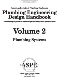 Plumbing Engineering Design Handbook - A Plumbing Engineer's Guide to System Design and Specifications, Volume 2 - Plumbing Systems