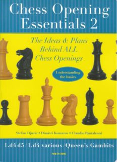 Chess Opening Essentials: 1.d4-d5 1.d4-various Queen's Gambits, Vol. 2