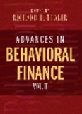 Advances in Behavioral Finance - University of Kansas