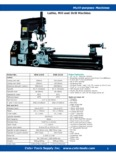 Lathe, Mill and Drill Machine - Metalworking Tools & Industrial