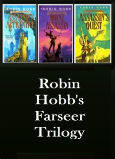 The Farseer Trilogy (Assassin's Apprentice, Royal Assassin & Assassin's Quest)