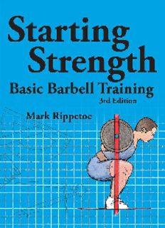 Starting strength : basic barbell training
