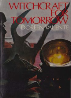 Doreen Valiente Witchcraft for Tomorrow