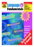 Evan-Moor Educational Publishers. Language Fundamentals (Grammar - Vocabulary), Grade 4