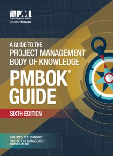 PMI Project Management Body of Knowledge PMBoK