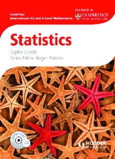 Cambridge International AS and A Level Mathematics: Statistics