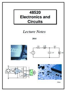 48520 Electronics and Circuits Lecture Notes - Engineering and