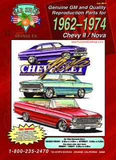 chevrolet nova parts - Truck and Car Shop