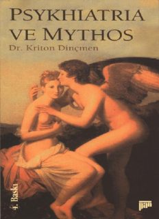Psikiyatri ve Mitoloji - Dr. Kriton Dinçmen