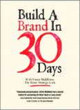 Build a brand in 30 days : [with] Simon Middleton, the brand strategy guru