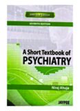 A Short Textbook of Psychiatry, 7th Edition