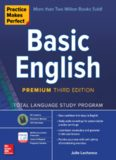 Practice Makes Perfect: Basic English, Premium Third Edition