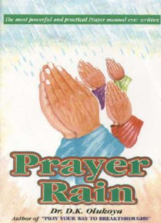 Prayer Rain - D