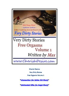 Very Dirty Stories: Free Orgasms, Volume 1 - Smashwords
