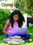 Cypress College 2015 Spring Class Schedule - Cypress Online