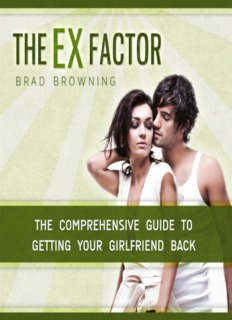 The Ex Factor Guide | Brad Browning