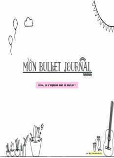 Mon bullet journal Mon bullet journal