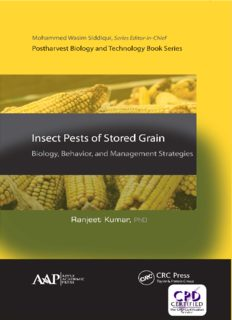 Insect pests of stored grain : biology, behavior, and management strategies