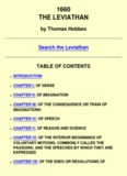 The Leviathan by Thomas Hobbes