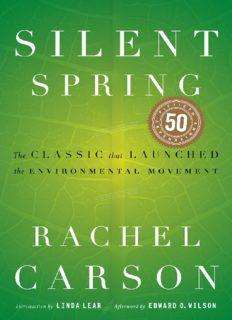 Silent Spring (50th Anniversary Edition) new PDF