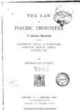 Thomson Hudson - The Law of Psychic Phenomena.pdf