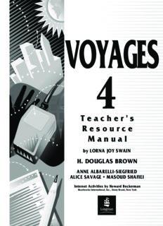 Douglas, Swain Lorna Joy. Voyages 4 - Teacher's Resource Manual