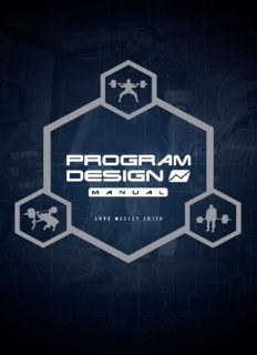 The Powerlifting Program Design Manual