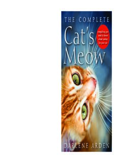 The complete cat's meow : everything you need to know about caring for your cat