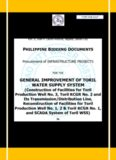 general improvement of toril water supply system