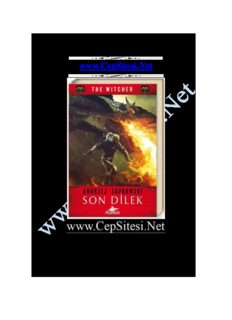 Son Dilek The Witcher www.CepSitesi.Net