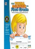 Your Total Solution for First Grade Workbook