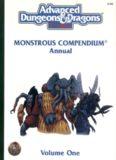 Monstrous Compendium Annual, Vol.1 (Advanced Dungeons & Dragons)