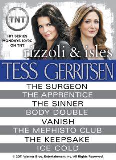 Rizzoli & Isles 8 Book Bundle