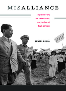 Misalliance : Ngo Dinh Diem, the United States, and the Fate of South Vietnam