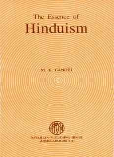 The Essence of Hinduism - Mahatma Gandhi