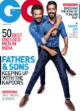 GQ India [June 2017] - feat. Anil Kapoor & Son