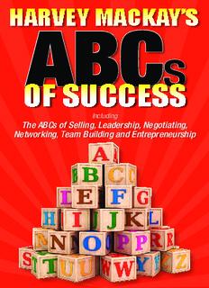 ABCs to Success - Harvey Mackay