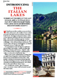 THE ITALIAN LAKES - Lonely Planet