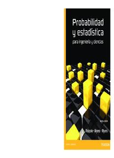 Libro probabilidad y estadística para ingenería y ciencias-Walpole
