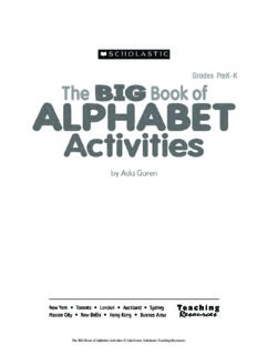The BIG Book of Alphabet Activities: A Treasure Trove of Engaging Activities, Mini-Books, and Colorful Picture Cards for Teaching Alphabet Recognition, Letter Formation, and More!
