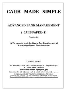 CAIIB MADE SIMPLE PAPER FIRST - VIBEWA