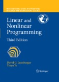 Linear and Nonlinear Programming - uok