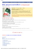 PIC microcontrollers - PIC book