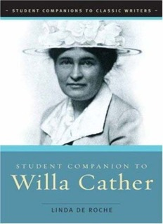 Student Companion to Willa Cather