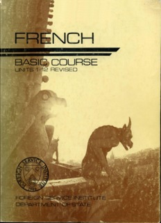 FSI - French Basic Course (Revised) - Volume 1 - Student Text