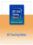 DBT Skills Training Teaching Guide
