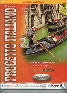Nuovo Progetto Italiano - 2 Aggiornato (Quaderno degli esercizi)